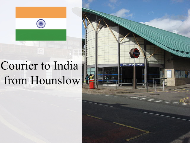 Courier to India from Hounslow
